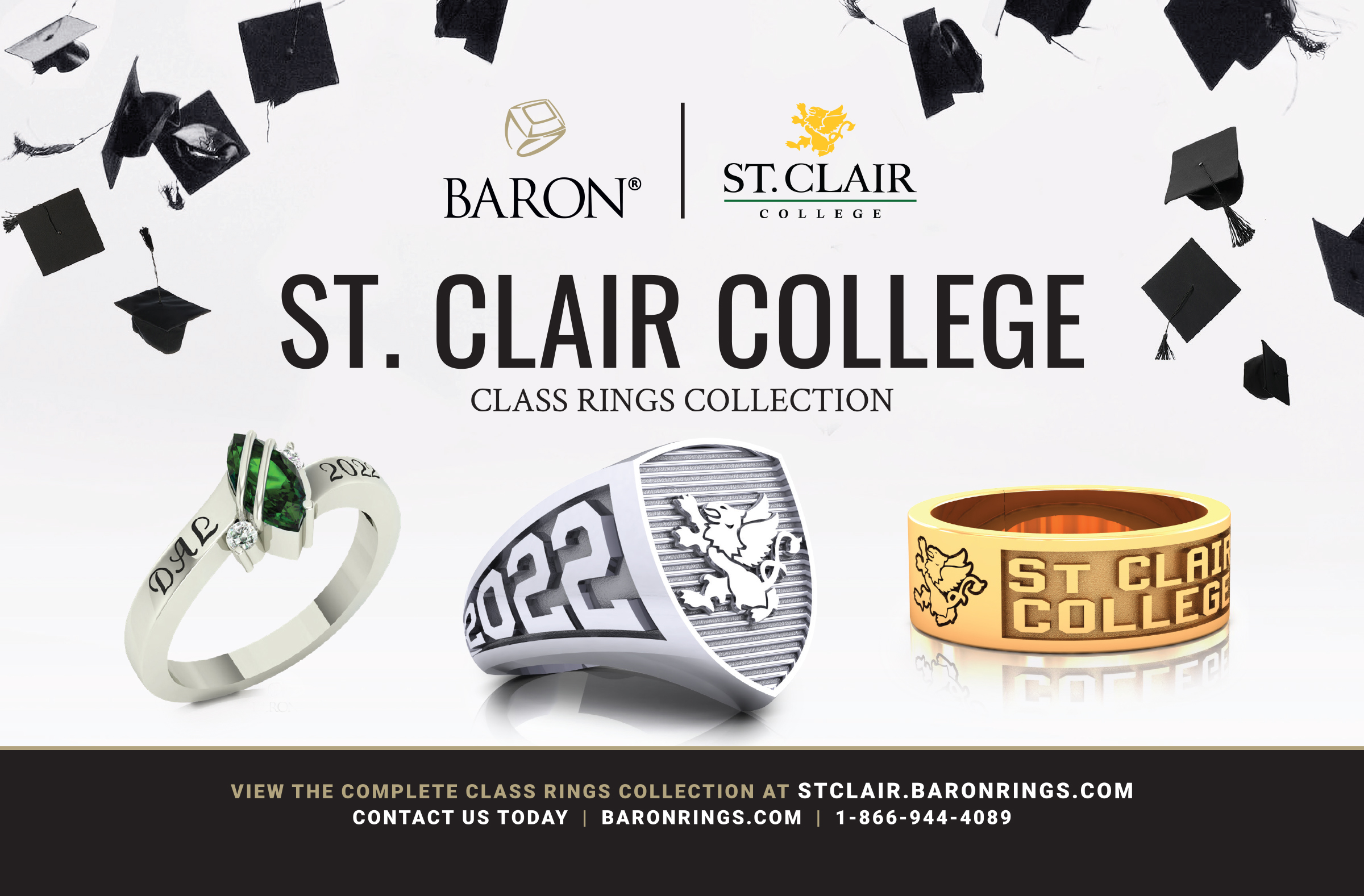 Class rings collection