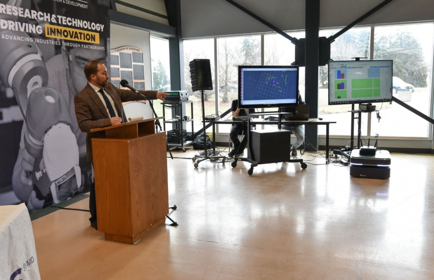 St. Clair College is just the second Canadian post-secondary institution to have 5G-ready technology.